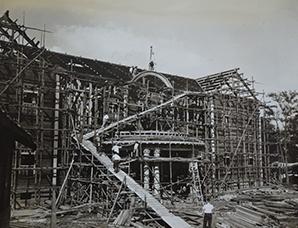 豊平館の解体(1957)