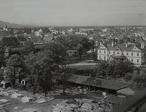 豊平館(望楼から)(1951)